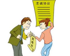 夫妻结婚时订立忠诚协议是否有效